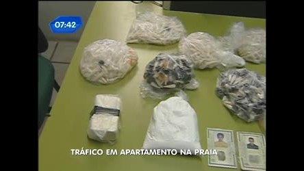 Polícia apreende drogas em apartamento em São Vicente ( SP ...