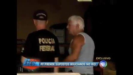 Polícia Federal prende quatro supostos milicianos na zona oeste (RJ)