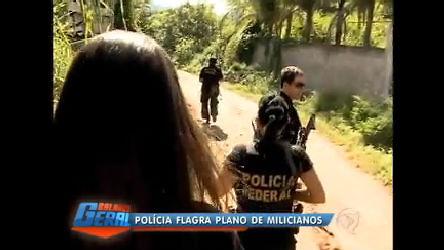 PF flagra milicianos em ação em parque de Jacarepaguá (RJ) - Rio ...