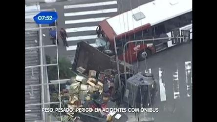 São Paulo tem quatro acidentes com ônibus por dia, diz SPTrans ...