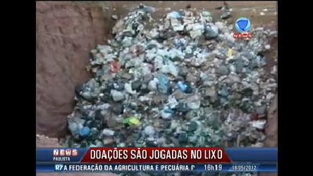 Doações para vítimas de enchentes vão parar em lixo em São Luiz ...