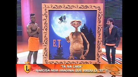 Ai que loucura! Narcisa participa do Tá Na Cara - Record Play - R7 ...