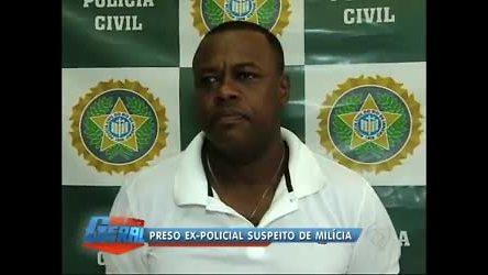 Homem é preso suspeito de chefiar milícia em Saracuruna (RJ ...