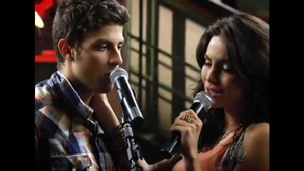 Carla e Tomás cantam Quando Estou do Seu Lado - Rebelde - R7 ...