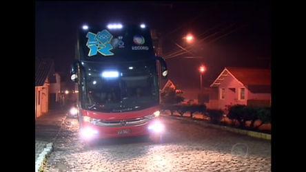 Em Urupema, Ônibus da Record encontra torcida ansiosa para ...