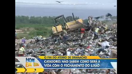 Catadores enfrentam fim do maior aterro da América Latina no Rio ...
