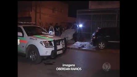 Jovem é morto a tiros em Ceilândia - Rede Record