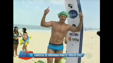 Cariocas se preparam para Ídolos 2012 - Rio de Janeiro - R7 ...