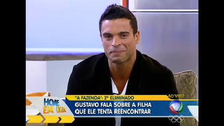 Gustavo Salyer chora e fala sobre a filha que tenta reencontrar ...