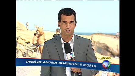 Namorado diz que irmã de Angela Bismarchi estava com a arma no ...