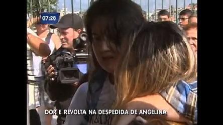 Sofrimento das filhas de Angelina marca enterro da irmã de Angela ...