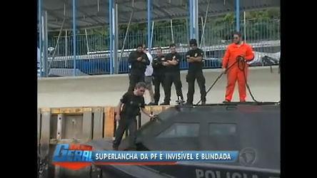 Polícia Federal recebe no Rio lancha construída com material ...