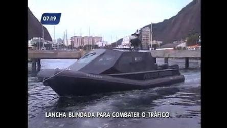 Polícia Federal do Rio recebe lancha blindada feita com material ...