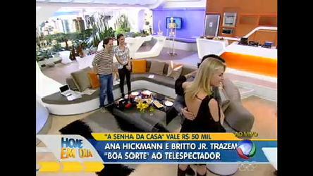 Ana Hickmann e Britto Jr. voltam às origens - Entretenimento - R7 ...
