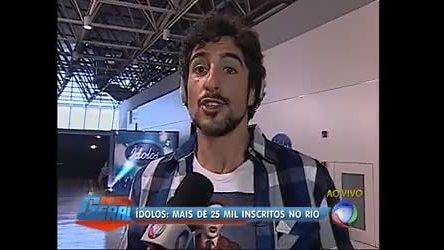 Ídolos 2012 tem mais de 25 mil inscritos no Rio - Rio de Janeiro ...