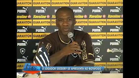 Seedorf se apresenta no Botafogo ( RJ) - Rio de Janeiro - R7 ...