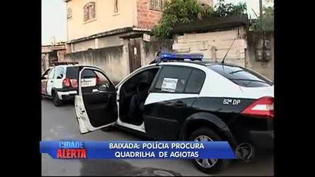 Policiais caçam traficantes que fugiram da Rocinha (RJ) - Rio de ...