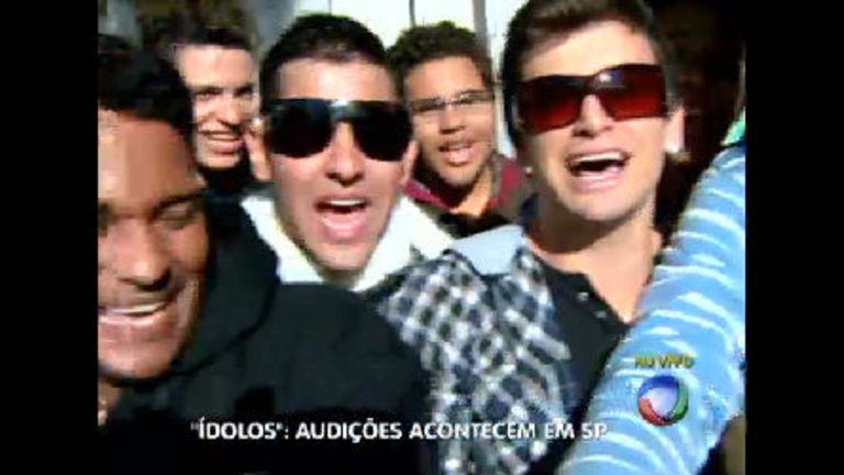 São Paulo recebe última etapa das audições do Ídolos 2012 ...