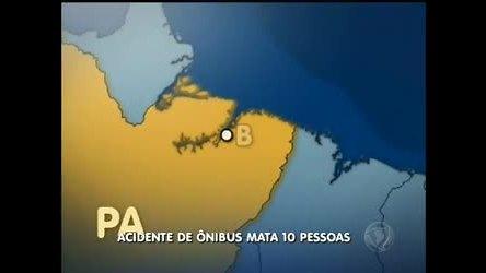 Acidente de ônibus mata 10 pessoas no Paraná - Distrito Federal ...