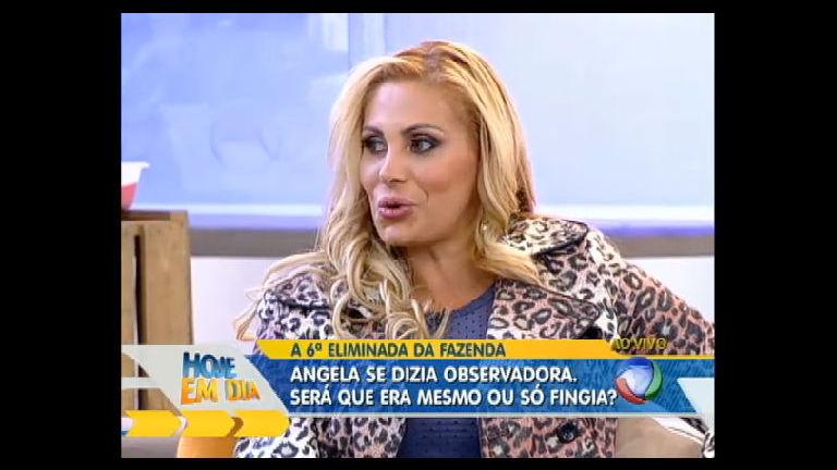 Angela Bismarchi fala sobre briga com Penélope e detona desafetos