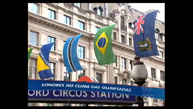 Londres é tomada pelo clima olímpico e promete fazer uma festa ...
