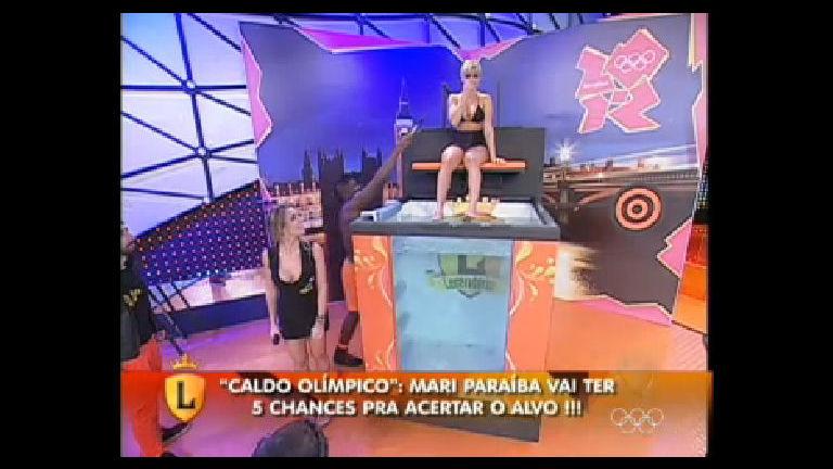 """Mari Paraíba participa do """"Caldo Olímpico"""" no Legendários ..."""