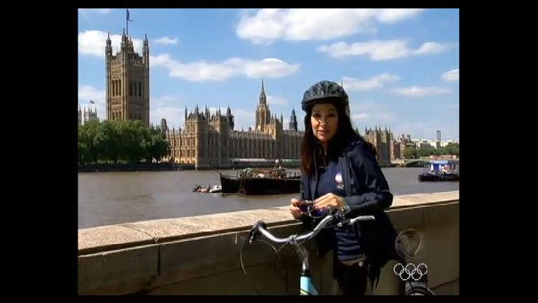 Ana Paula Padrão pedala por Londres e mostra como a bicicleta é ...