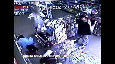 Ladrão atrapalhado pede desculpas pelo crime - Minas Gerais - R7 ...