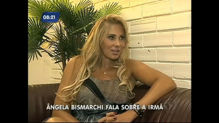 """Angela Bismarchi fala da participação em """"A Fazenda"""" e sobre ..."""