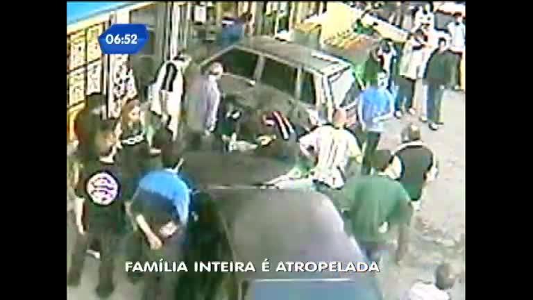 Família é atropelada e motorista tenta fugir em Novo Hamburgo ( RS ...