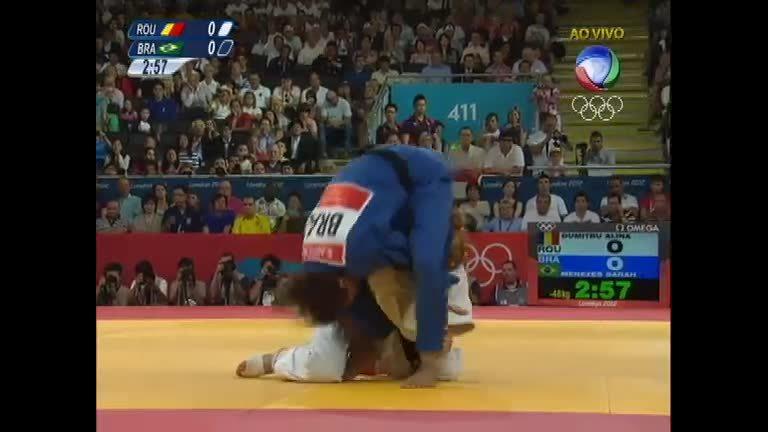 Sarah Menezes bate romena e é a primeira judoca brasileira a levar ...