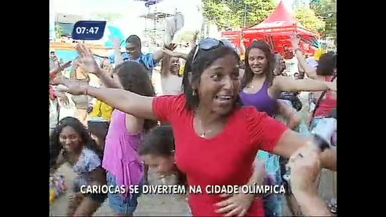 """Cidade Olímpica"" leva atividade e espírito olímpico a parque na ..."