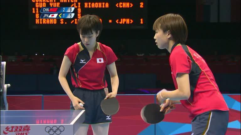 China vence Japão e confirma domínio no tênis de mesa