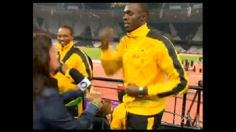 Usain Bolt faz dancinha estranha que lembra o samba - Notícias ...