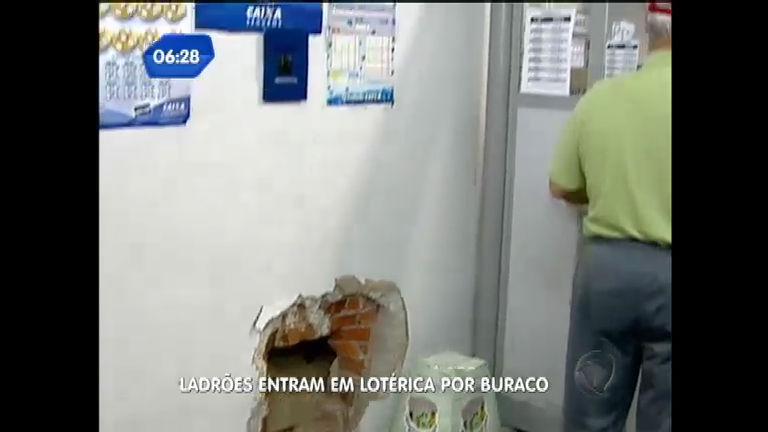 Bandidos entram em lotérica por buraco em Novo Hamburgo ( RS ...