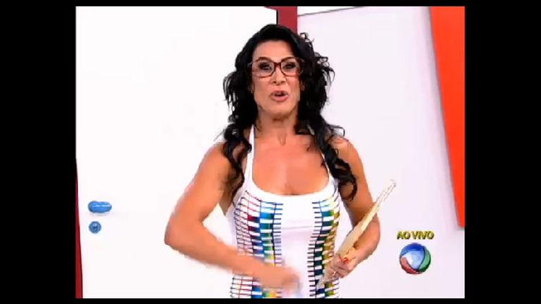 Dona Lelé dá bronca no professor e leva nota zero na Escolinha do ...