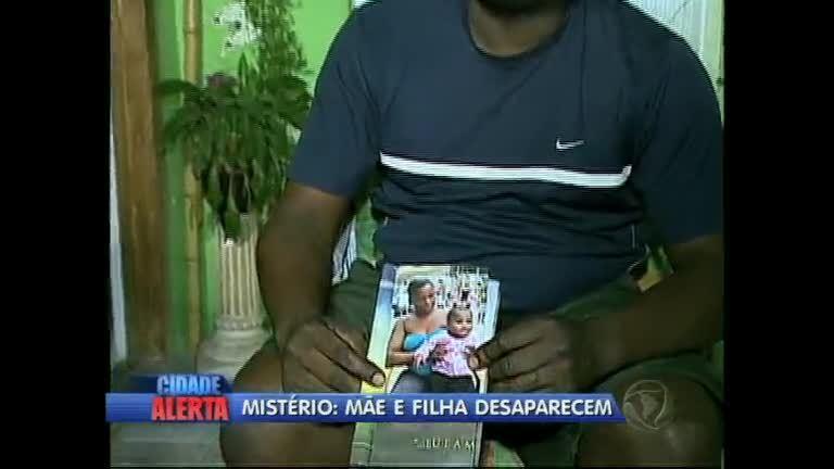 Desaparecimento de mãe e filha intriga policiais em Jacarepaguá (RJ)