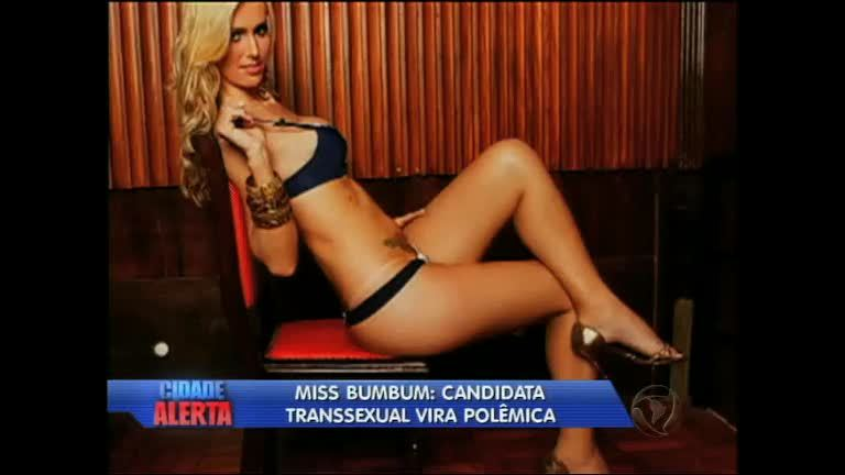 Transexual disputa Miss Bumbum Brasil e gera reclamação de ...