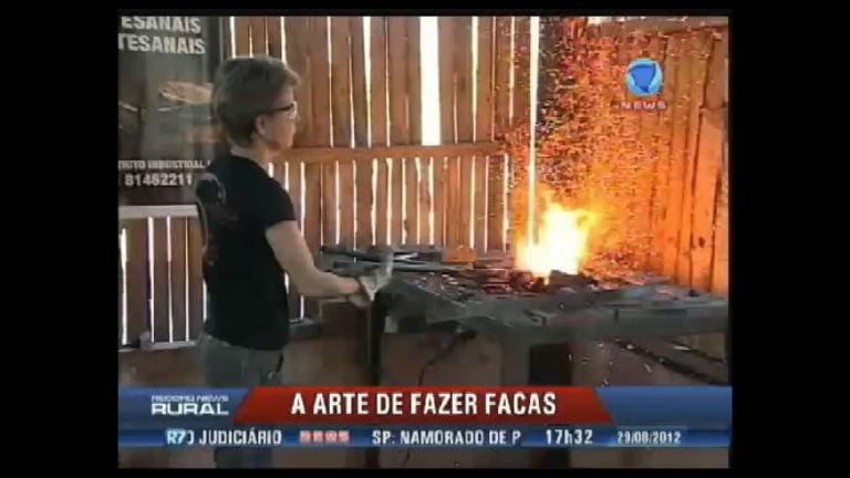 Conheça a primeira mulher brasileira a produzir facas artesanais ...