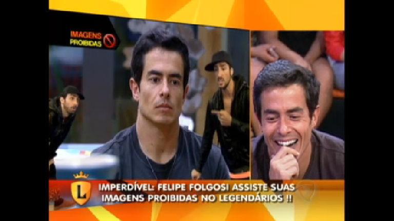 Marcos Mion analisou imagens proibidas de Felipe Folgosi no Vale ...