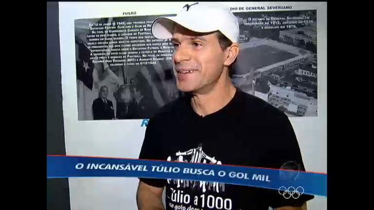 Túlio retorna ao futebol brasileiro no Botafogo e pretende chegar ao ...