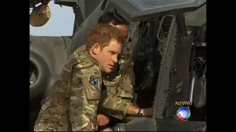 Após escândalo, príncipe Harry chega ao Afeganistão - Notícias ...