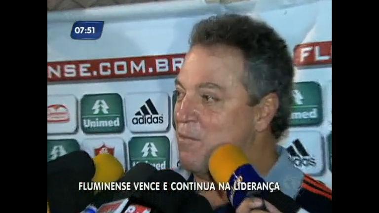 Fluminense vence e mantém liderança, mas Abel discute com ...