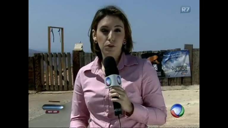 Piloto de paraglider que caiu na Serra da Moeda permanece ...
