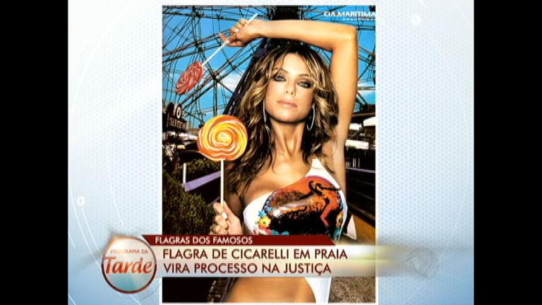 Cicarelli está na lista das celebridades flagradas em momento íntimo
