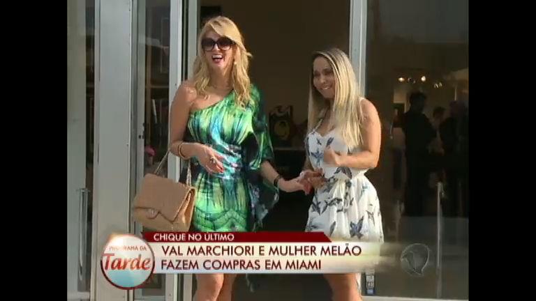 Chique no Último: Val Marchiori mostra o luxo de Miami para a ...