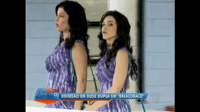 Gêmeas garantem diversão e cumplicidade na novela Balacobaco ...