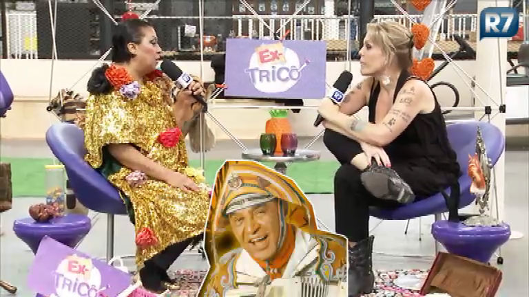 Maria Alcina passa pelo Ex- Tricô e relembra grandes sucessos de ...