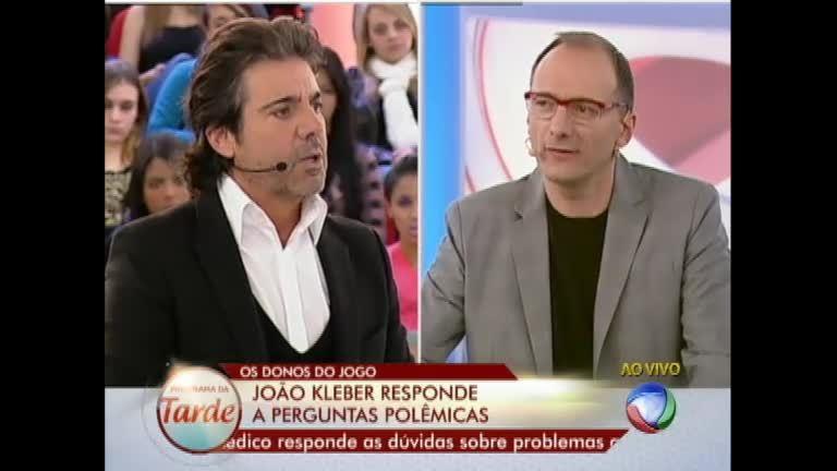 João Kleber responde as perguntas no Donos do Jogo e concorre a ...
