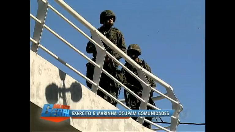 Eleições 2012: Exército e Marinha ocupam mais cinco comunidades ...